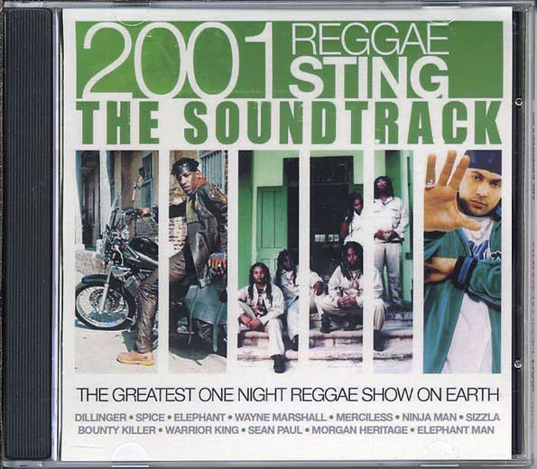 2001 Reggae Sting The Soundtrack: Live At Jamworld, Portmore Jamaica