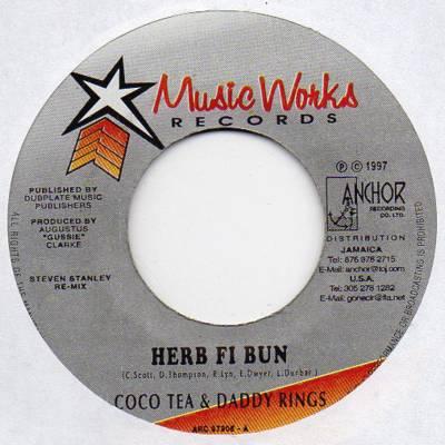 Daddy Rings Herb Fi Bun