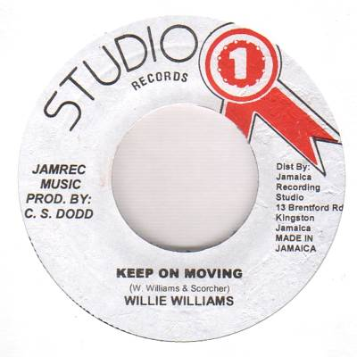 Keep On Moving (Original Stamper)